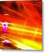 Colors Explosion Metal Print