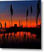 Colors In The Sky Metal Print by Stephen Melcher