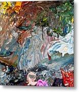 Colors Of Artist's Palette Metal Print