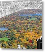 Colors Of Central Park Metal Print