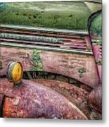 Colors Of Corrosion Metal Print