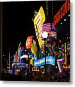Colors Of Las Vegas Metal Print