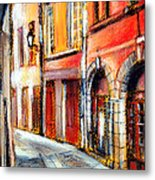 Colors Of Lyon 3 Metal Print