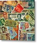 Colors Of Money Metal Print