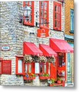 Colors Of Quebec 16 Metal Print by Mel Steinhauer