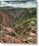 Colors Of The Black Canyon Metal Print