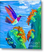 Colors Of The Desert Metal Print