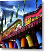 Colors Of The Midway 2 Metal Print
