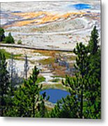 Colors Of Yellowstone Metal Print