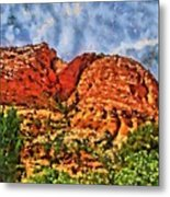Colors Of Zion Metal Print