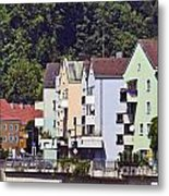 Colorul Houses In Germany Metal Print