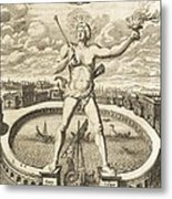 Colossus Of Rhodes, 17th-century Artwork Metal Print