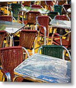 Colourful Confusion Metal Print