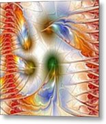 Colourful Emotions Metal Print