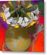 Colourful Flowers Metal Print