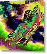 Colourful Journey In The Land Of Books Metal Print
