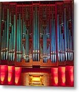 Colourful Organ Metal Print