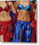 Colourful Samba Dancers  Metal Print