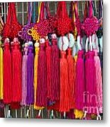 Colourful Souvenirs In China Metal Print
