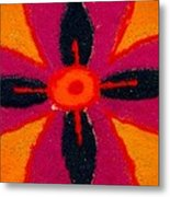 Colours Of India Metal Print