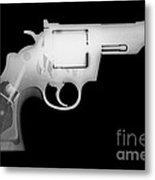 Colt 357 Magnum Reverse Metal Print