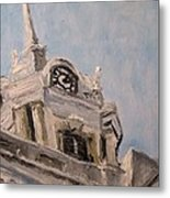 Columbia Courthouse On A Clear Day Metal Print