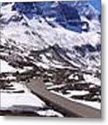 Columbia Icefields, Alberta - Panorama Metal Print