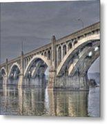 Columbia-wrightsville Bridge Metal Print