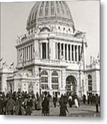 Columbian Exposition Chocolat 1893 Metal Print