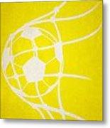 Columbus Crew Goal Metal Print