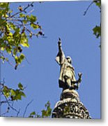 Columbus Monument - Barcelona Metal Print