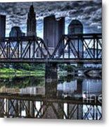 Columbus Ohio Downtown IIi Metal Print