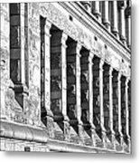 Columnar Facade Metal Print