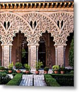 Columns And Arches No4 Metal Print