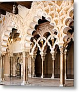 Columns And Arches No1 Metal Print