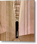 Columns And Monuments Metal Print by Metro DC Photography