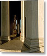 Columns Of A Memorial, Jefferson Metal Print