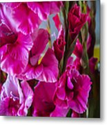 Columns Of Colour Metal Print