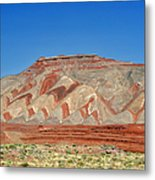 Comb Ridge Utah Near Mexican Hat Metal Print by Christine Till