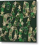 Combat Rock Metal Print