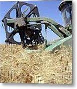 Combine Harvester  Metal Print