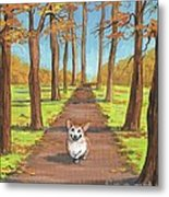 Come Here My Little Maple Leaf Metal Print