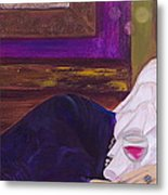 Come Hither Metal Print by Debi Starr