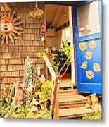 Come On In To A Mendocino Art Studio Metal Print