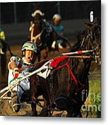Horse Racing Come On Number 6 Metal Print