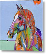 Come On Over Metal Print by Tracy Miller