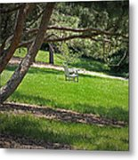 Come Sit - Enjoy Metal Print