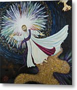 Come With Me Metal Print by Julia Bowman