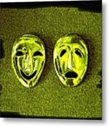 Comedy And Tragedy Masks 6 Metal Print