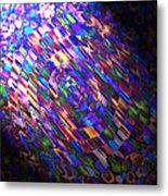 Comet Of Colour Metal Print